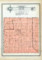 Township 32 Range 13, Saratoga, Holt County 1915